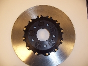 C4 Front 2 Piece Rotor Assembly for AP Calipers